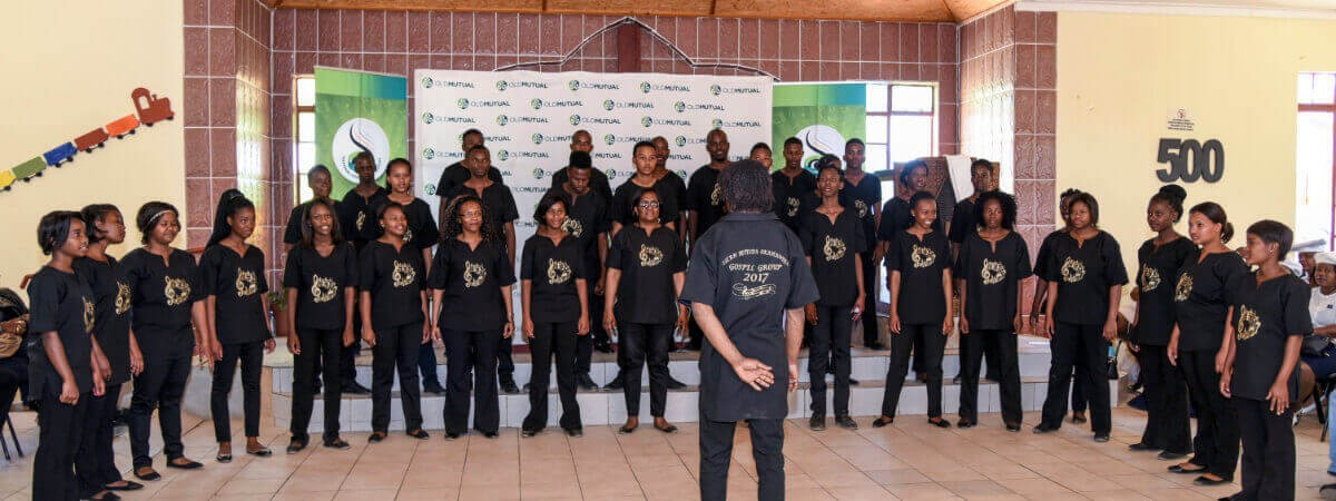 Old Mutual - Do great things - Otjiwarongo Auditions
